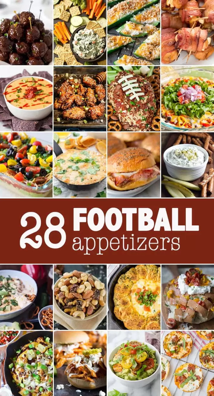 Healthy Football Appetizers  10 Football Appetizers