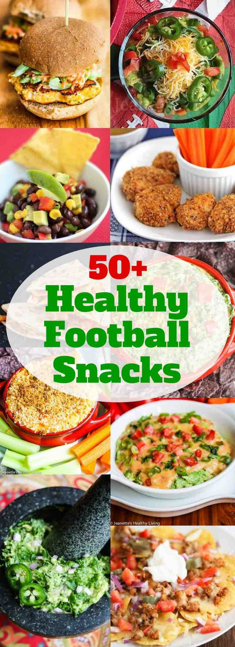 Healthy Football Appetizers  50 Healthy Football Snacks
