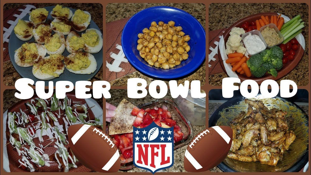 Healthy Football Appetizers  SUPER BOWL GAME DAY APPETIZERS 🏈 HEALTHY APPETIZERS