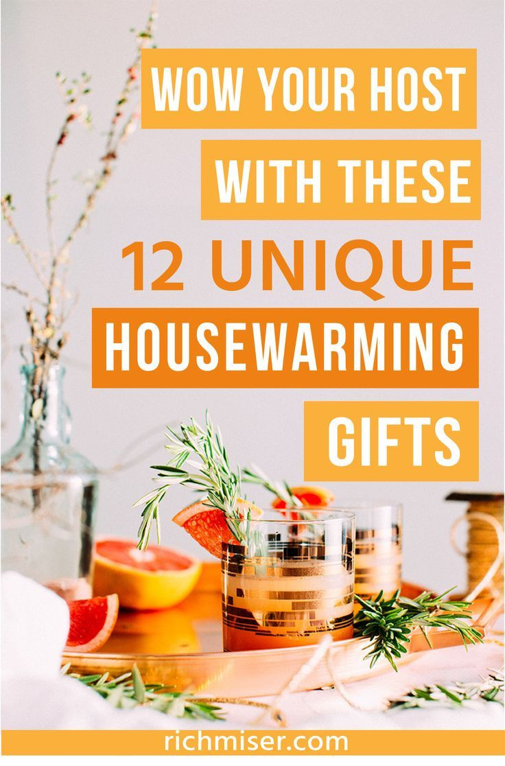 Host Gift Ideas For Couples  Wow Your Host With These 12 Unique Housewarming Gifts