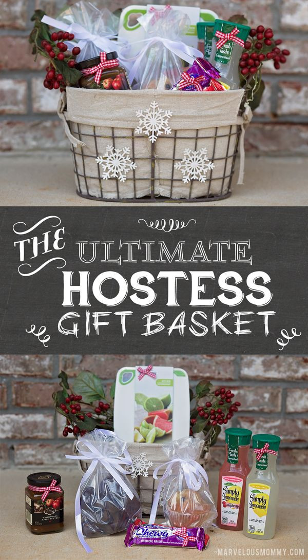 Host Gift Ideas For Couples  Ultimate Hostess Gift Basket for the party hostess in your