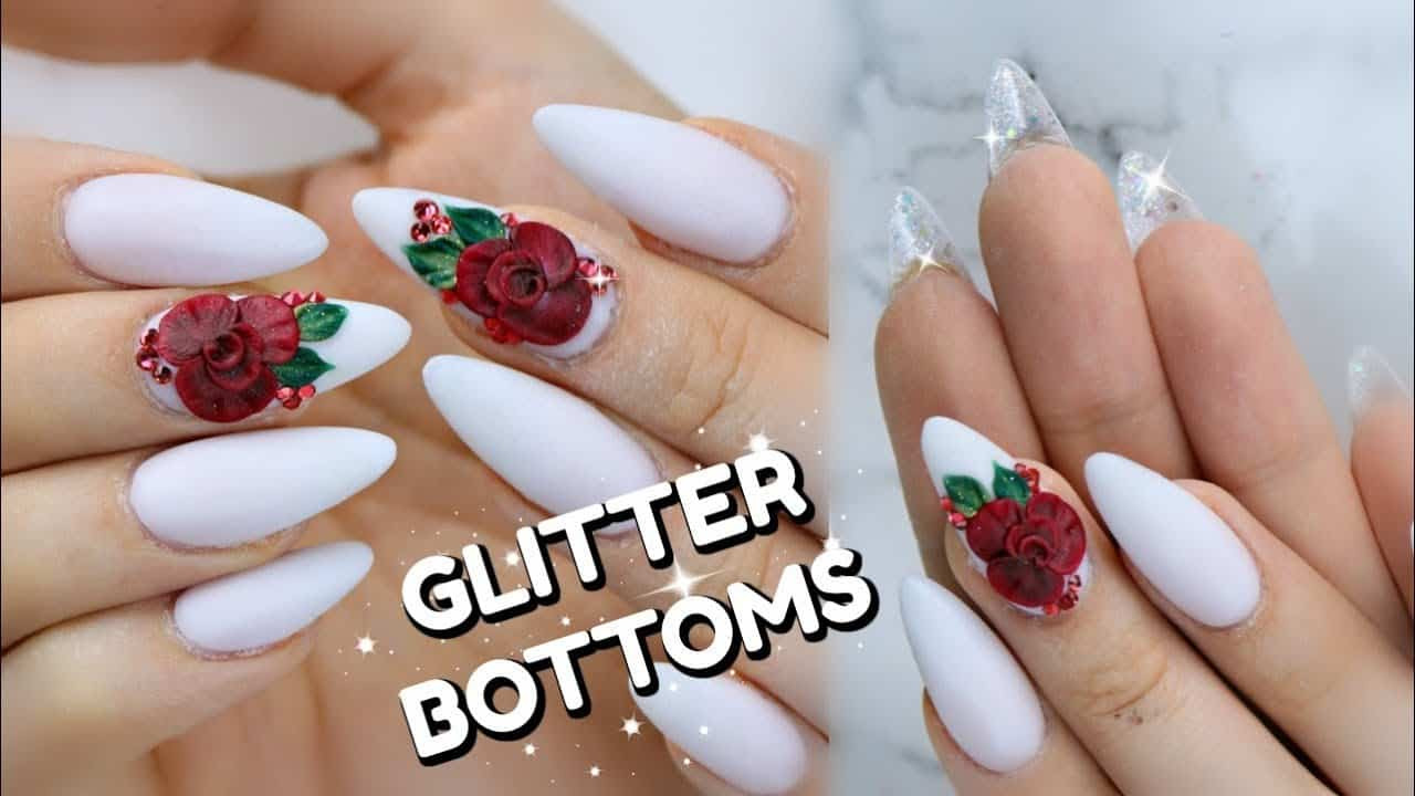How To Do Glitter Acrylic Nails  Top 5 Ways to Make Your Acrylic Fake Nails Last Longer