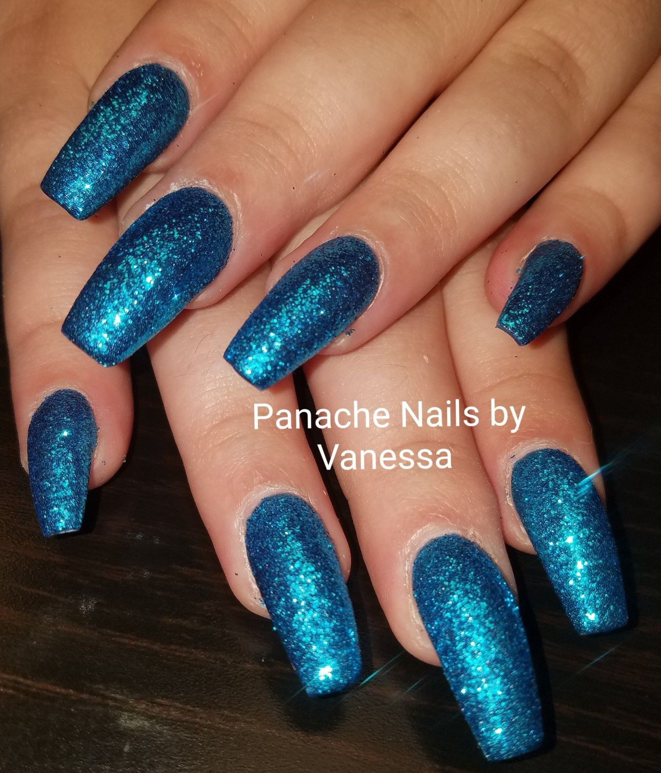How To Do Glitter Acrylic Nails  Image by Kathy J on nails