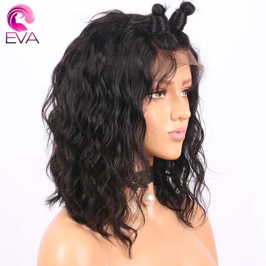 Human Hair Lace Front Wigs With Baby Hair  Short Lace Front Human Hair Wigs With Baby Hair Pre