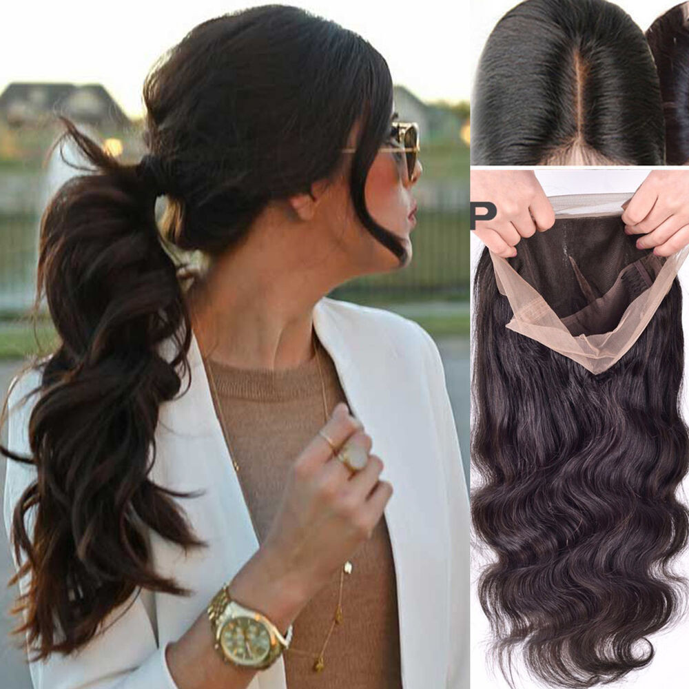 Human Hair Lace Front Wigs With Baby Hair  Glueless Lace Front wigs Brazilian Human Hair body wave