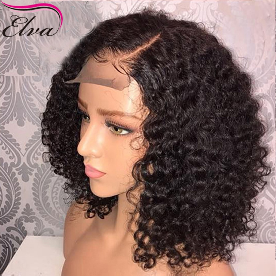 Human Hair Lace Front Wigs With Baby Hair  150 Density Short Lace Front Human Hair Wigs With Baby