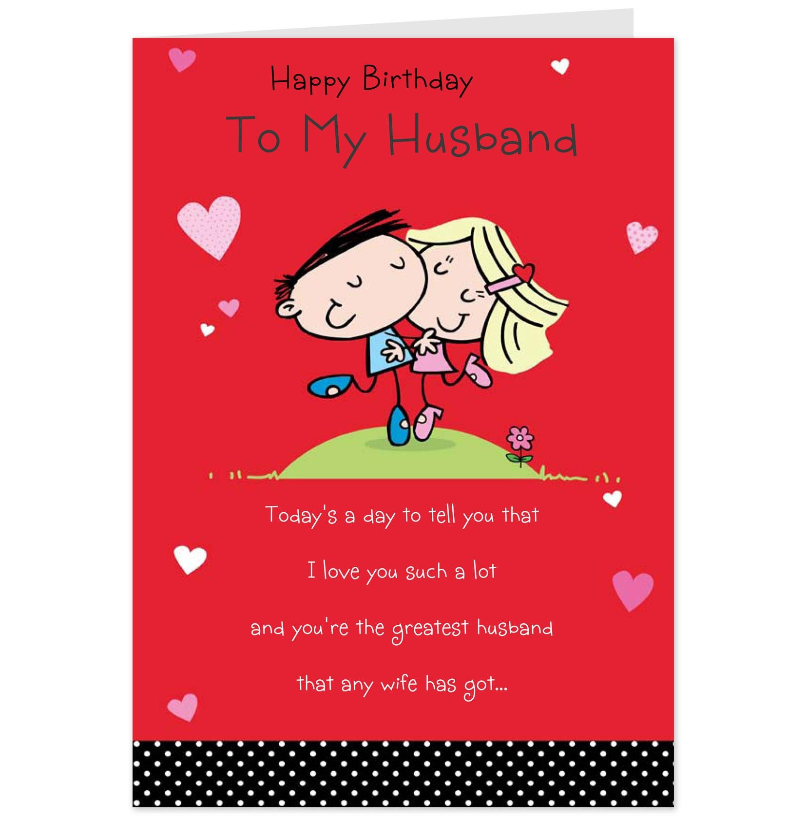 Husband Birthday Card  The Best and Most prehensive Happy Birthday