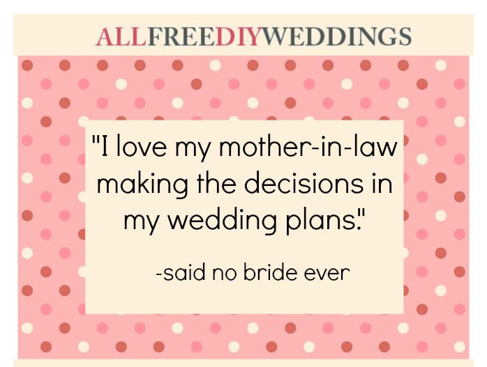 I Love My Mother In Law Quotes  Funny Wedding Quotes
