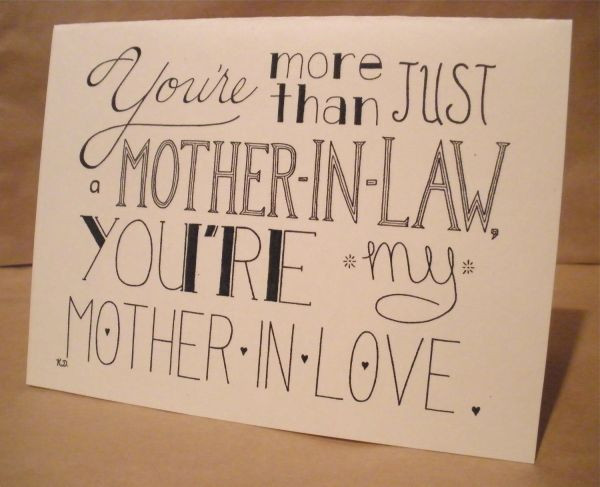 I Love My Mother In Law Quotes  23 Most Beautiful Happy Mother In Law Day 2016 Greeting