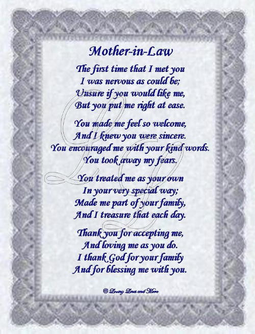 I Love My Mother In Law Quotes  Positive Mother In Law Quotes QuotesGram