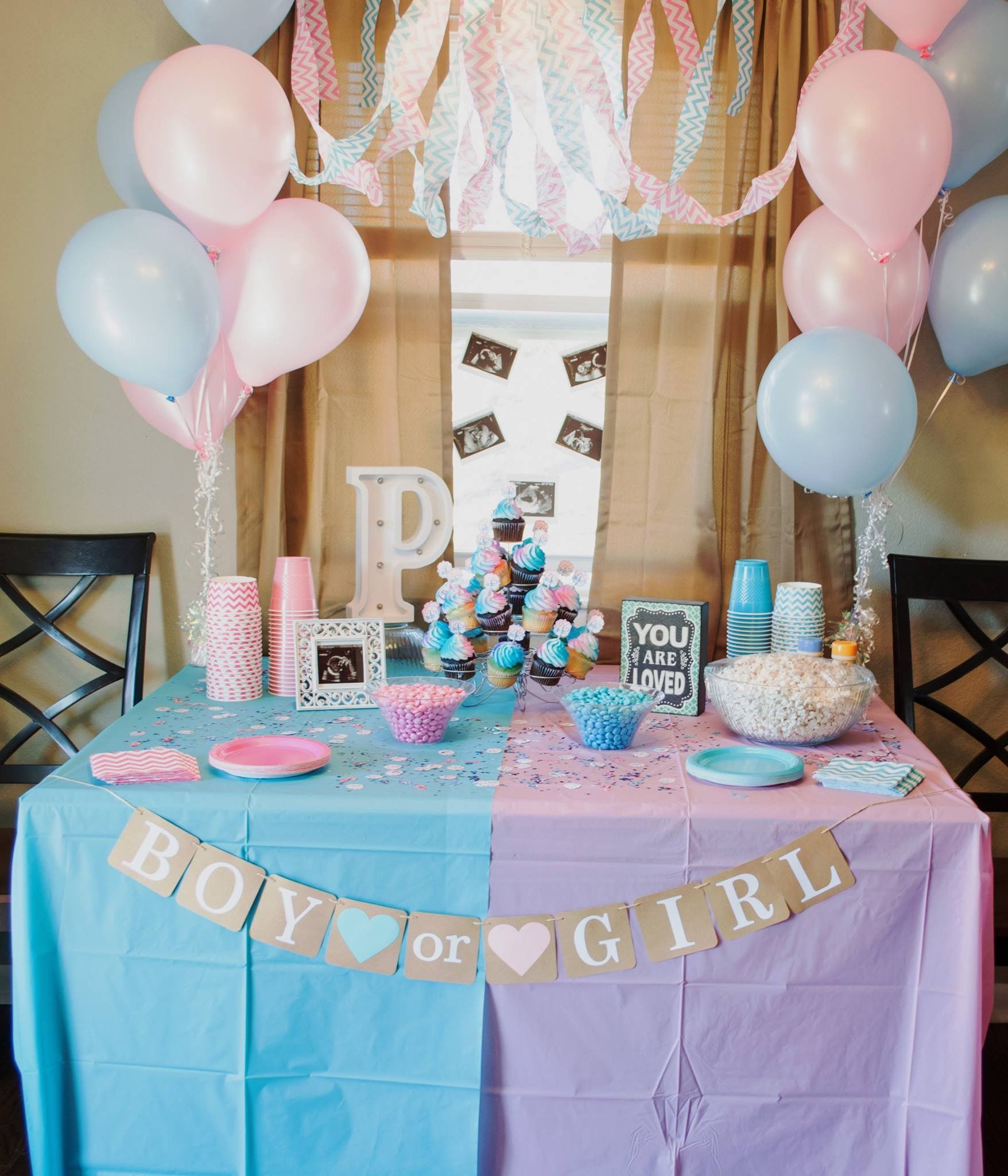 Ideas For A Gender Reveal Party  Gender Reveal Party 45 mybabydoo