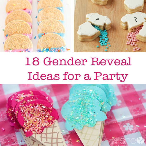Ideas For A Gender Reveal Party  18 Gender Reveal Ideas for a Party