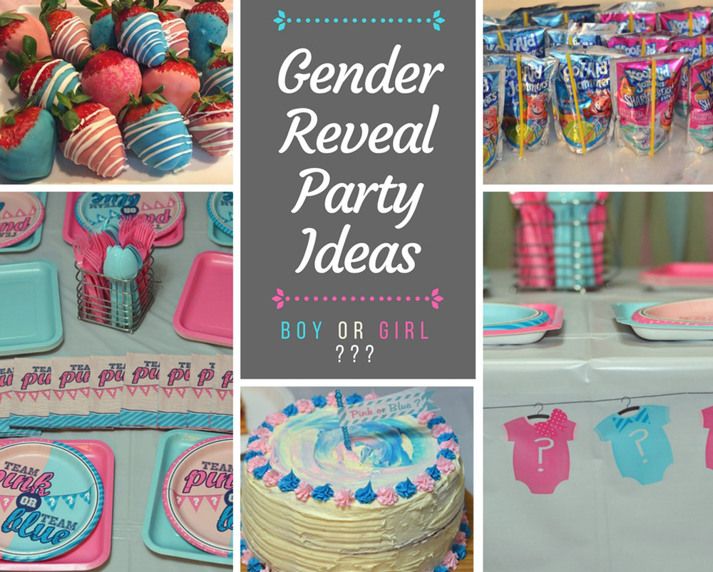 Ideas For A Gender Reveal Party  Gender Reveal Party Ideas Gender reveal cake pink
