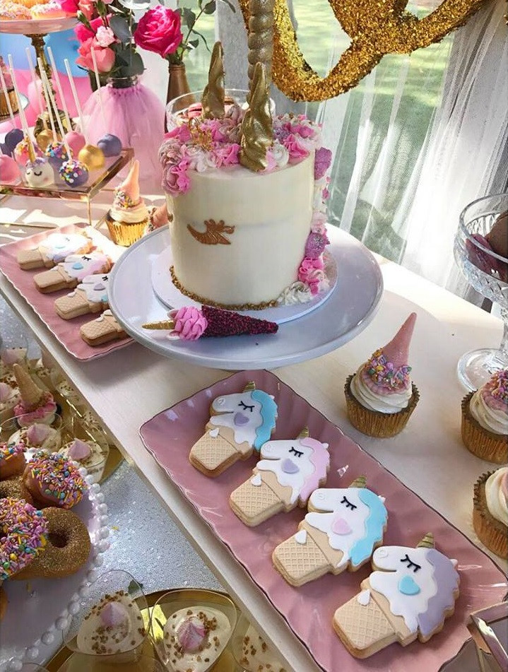 Ideas For Unicorn Party  Magical Unicorn First Birthday Party Birthday Party