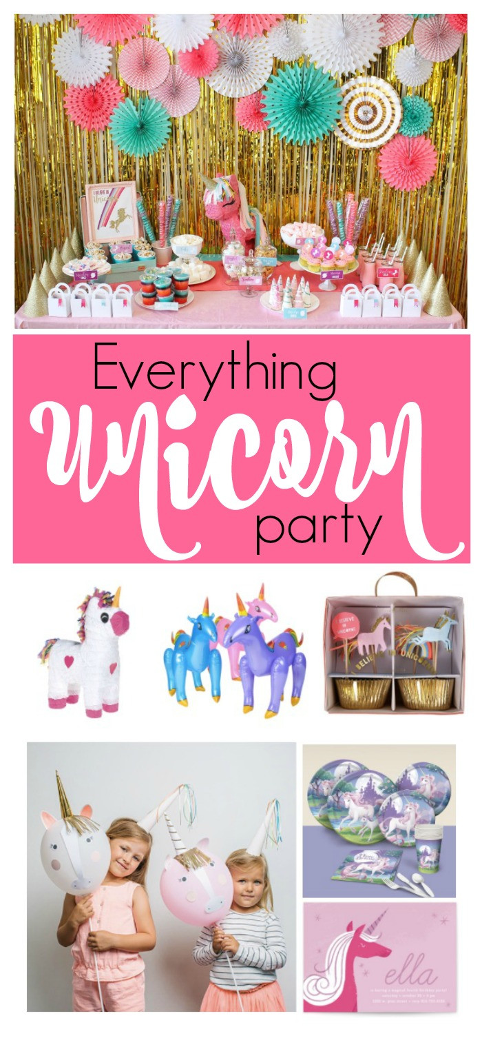 Ideas For Unicorn Party  Party Ideas for the Perfect Unicorn Party