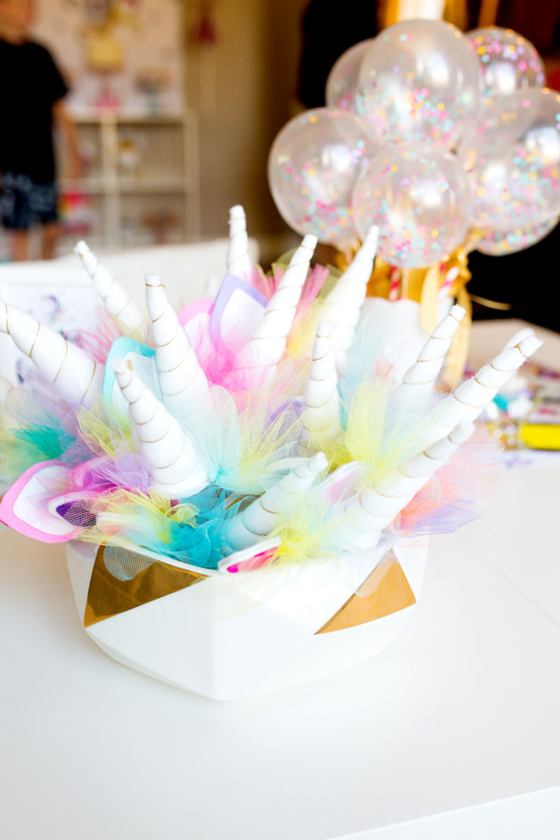 Ideas For Unicorn Party  Unicorn Birthday Party Decorations by Modern Moments