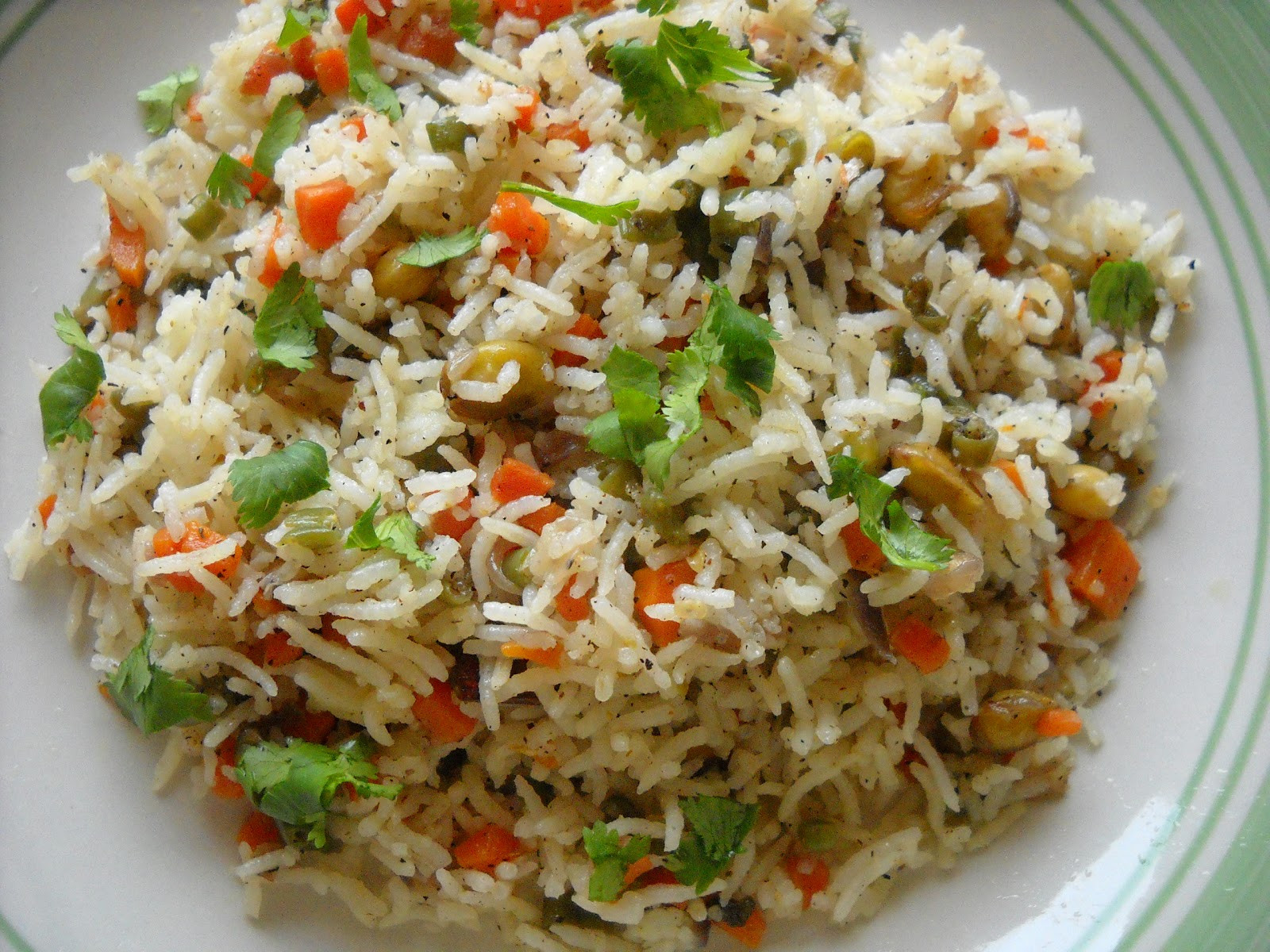 Indian Fried Rice  Savitha s Kitchen Indian style fried rice