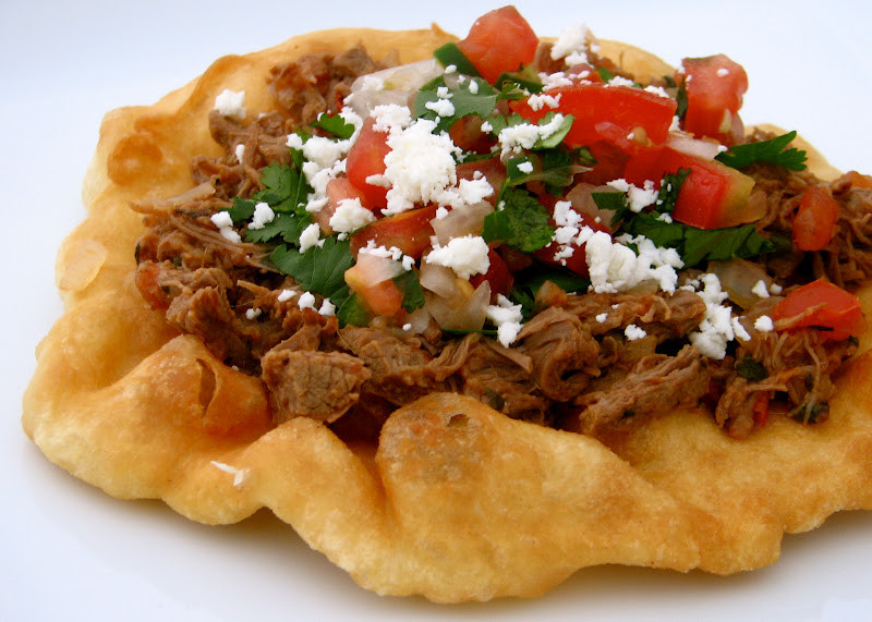 Indian Taco Fry Bread Recipe  Food for Hunters Indian Fry Bread Tacos