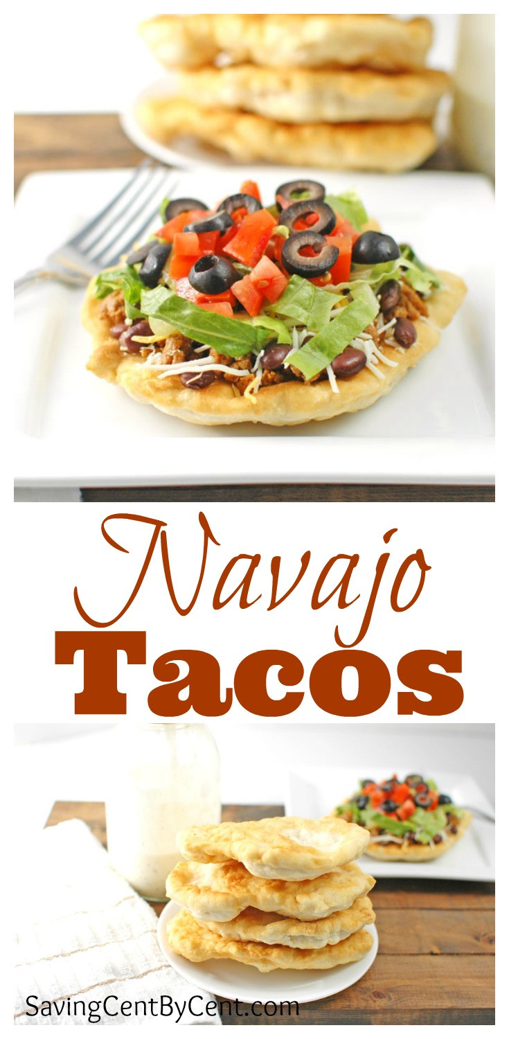 Indian Taco Fry Bread Recipe  Navajo Tacos and Indian Fry Bread Saving Cent by Cent