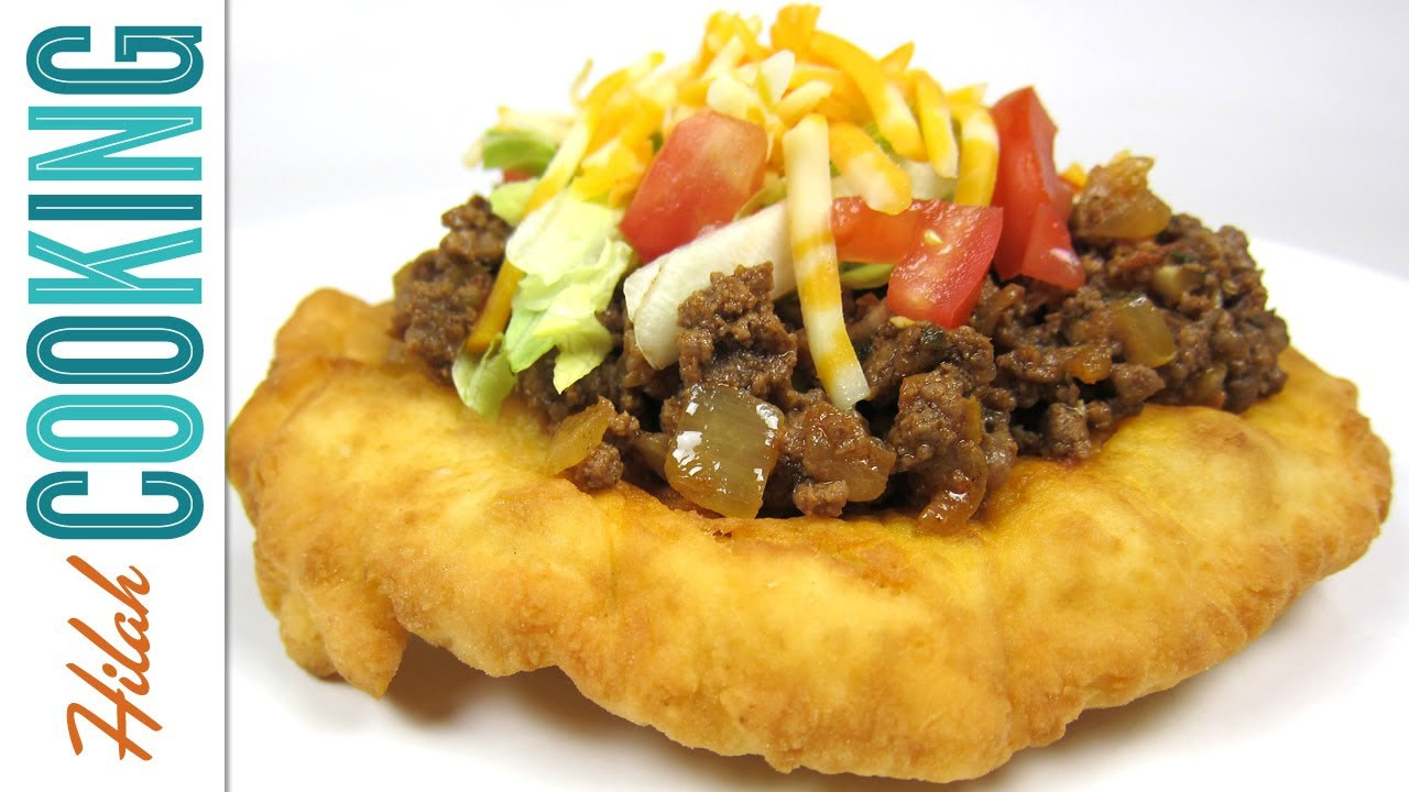 Indian Taco Fry Bread Recipe  Homemade Indian Tacos and Indian Frybread Recipe