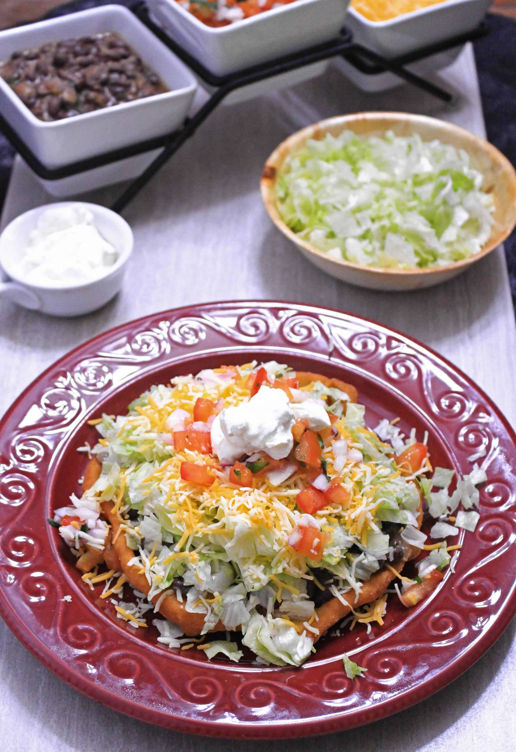 Indian Taco Fry Bread Recipe  Indian Fry Bread