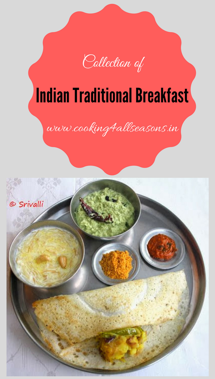 Indian Tiffin Recipes  Indian Breakfast Recipes Indian Breakfast Dishes Tiffin