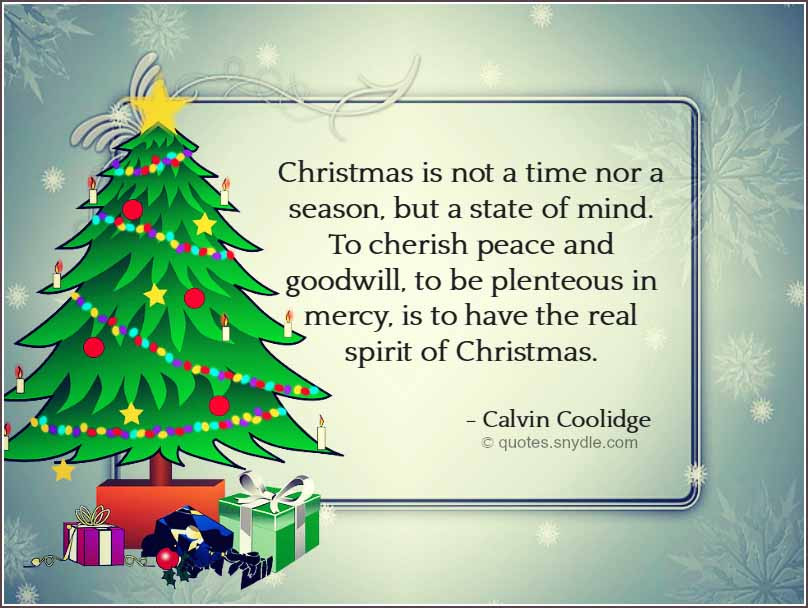 Inspirational Quote For Christmas  Christmas Quotes Quotes and Sayings
