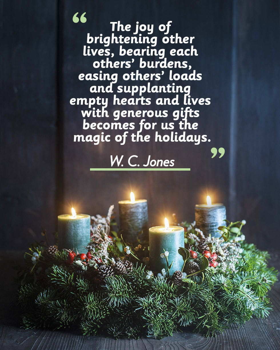 Inspirational Quote For Christmas  17 Merry Christmas Quotes Inspirational Holiday Sayings