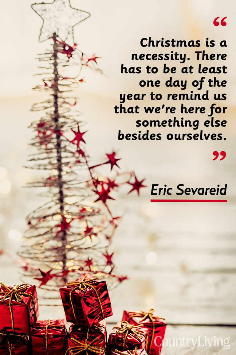 Inspirational Quote For Christmas  20 Merry Christmas Quotes Inspirational Holiday Sayings