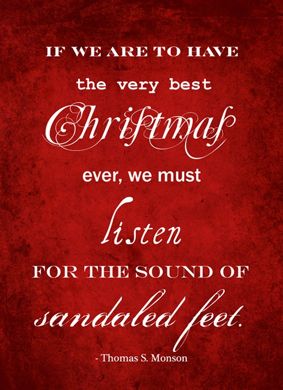 Inspirational Quote For Christmas  17 Incredibly Inspirational Quotes About Christmas LDS S