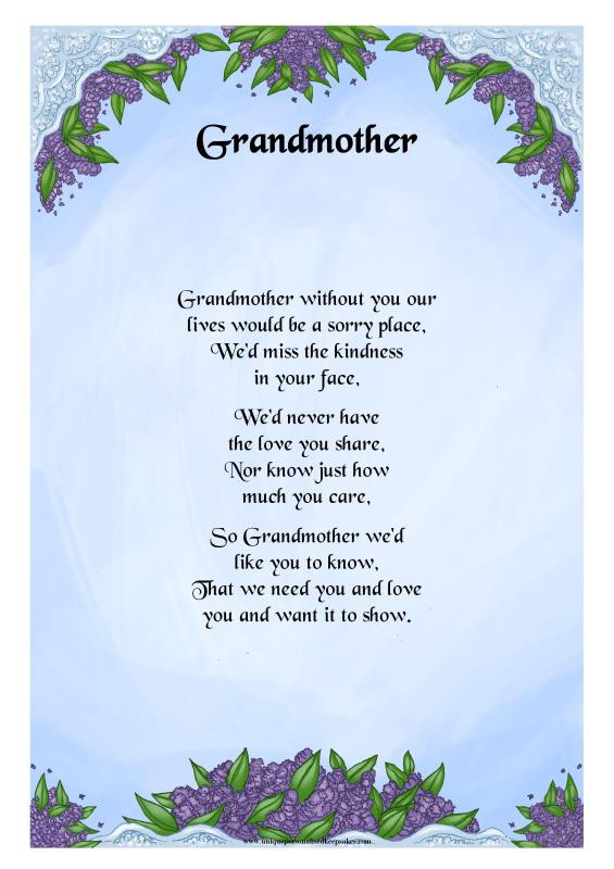 Inspirational Quotes From Grandmother To Granddaughter  Granddaughter Poems And Quotes QuotesGram