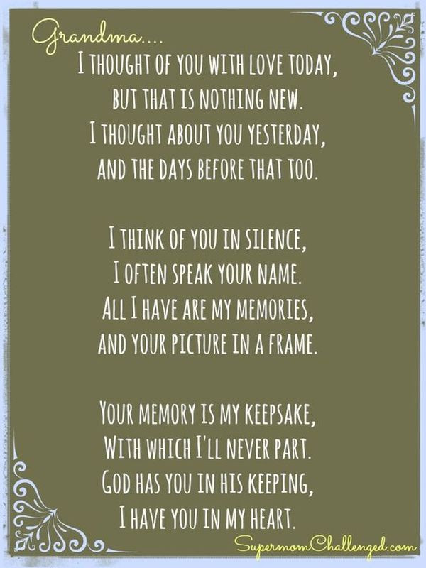 Inspirational Quotes From Grandmother To Granddaughter  Grandma Quotes and Sayings