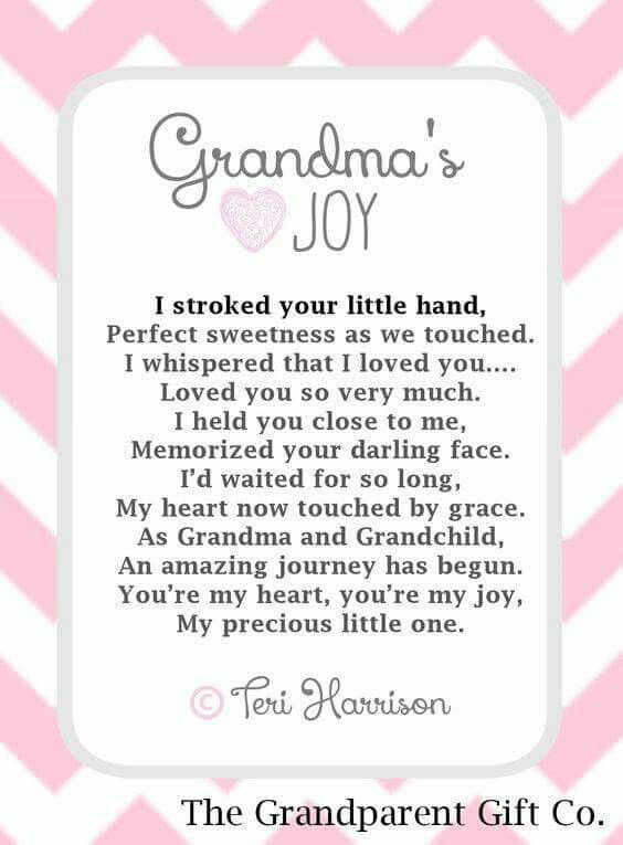 Inspirational Quotes From Grandmother To Granddaughter  Grandmom s Joy