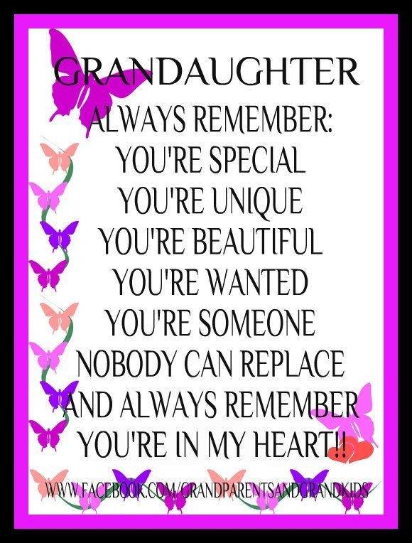 Inspirational Quotes From Grandmother To Granddaughter  Beautiful Granddaughter Quotes QuotesGram by quotesgram