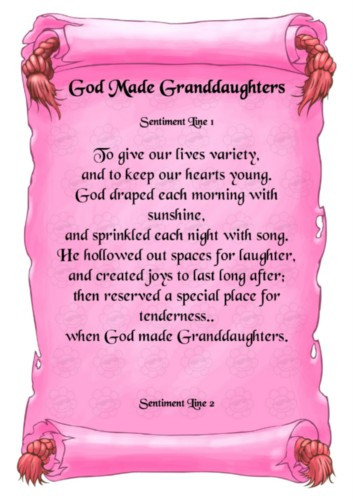 Inspirational Quotes From Grandmother To Granddaughter  Granddaughter grandmother Poems
