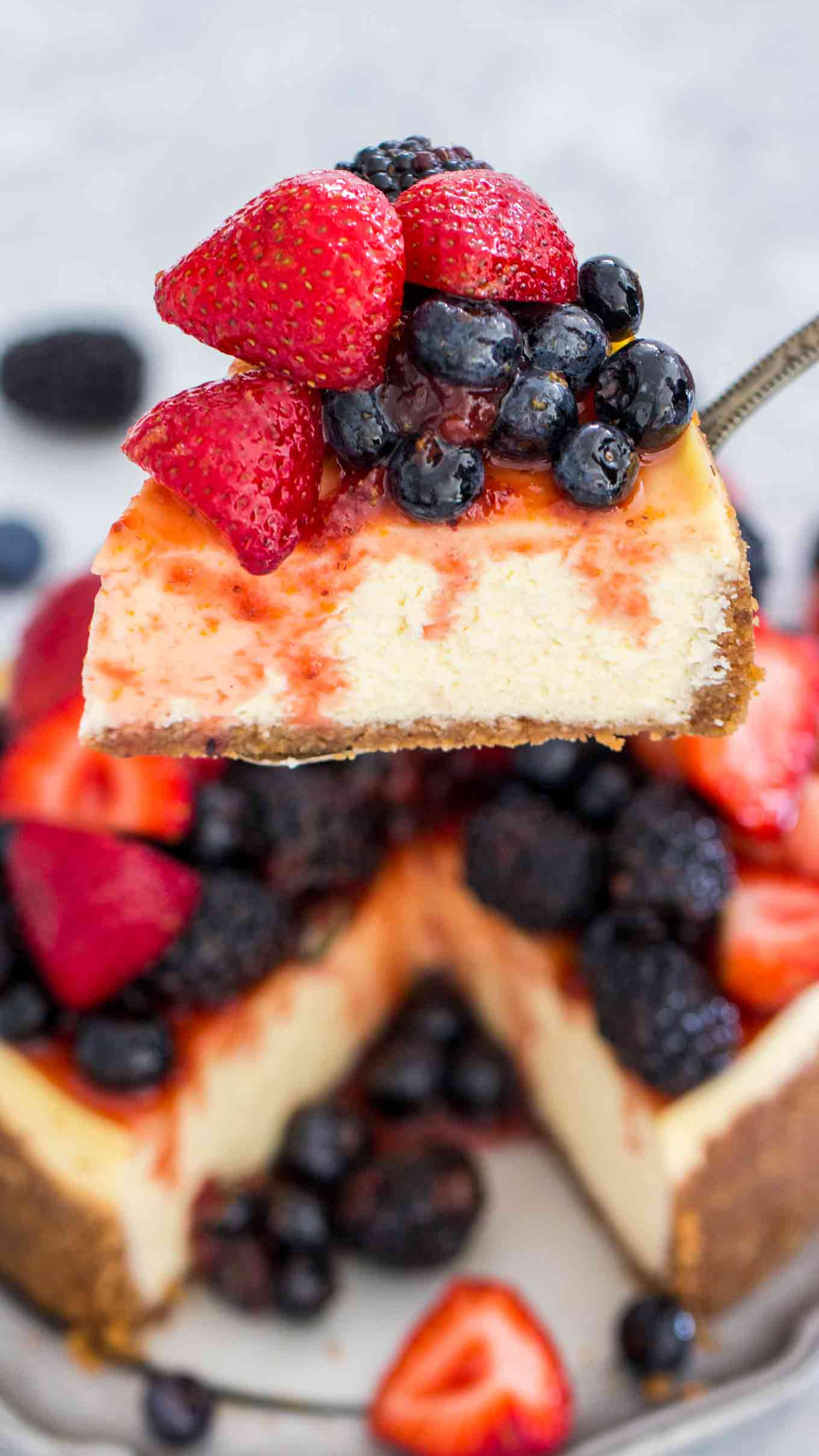 Instant Pot Springform Pan Recipes  Best Instant Pot Cheesecake VIDEO Sweet and Savory Meals