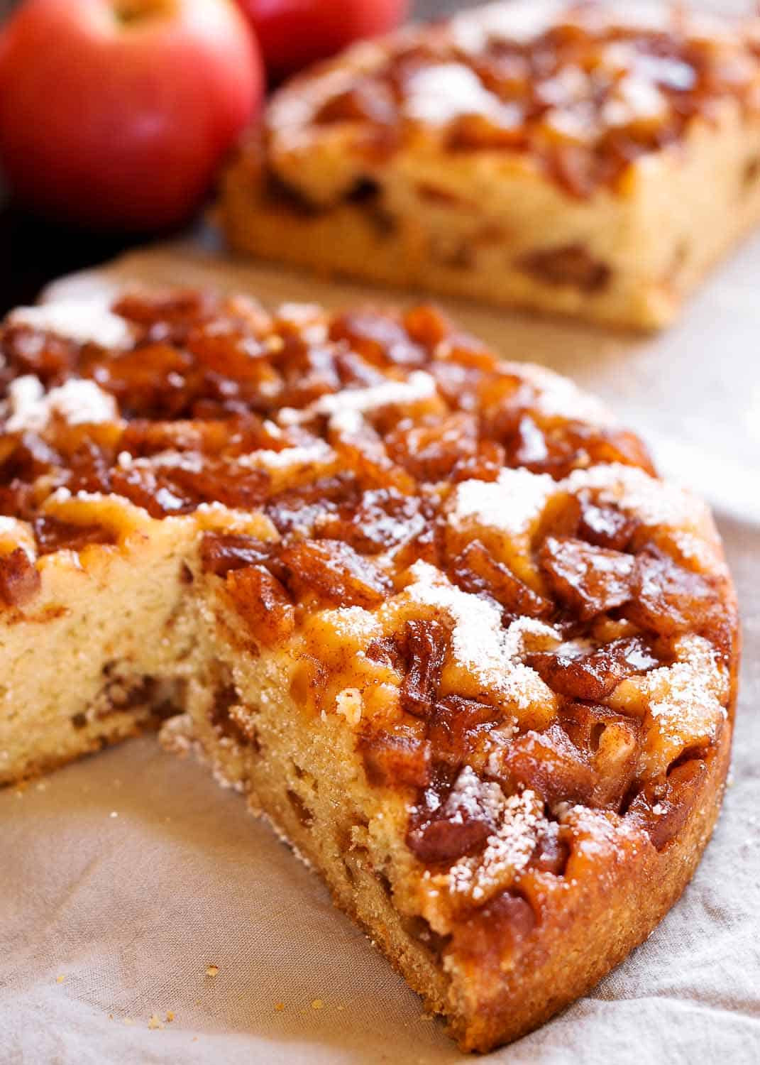 Instant Pot Springform Pan Recipes  Instant Pot Apple Cake video What s In The Pan