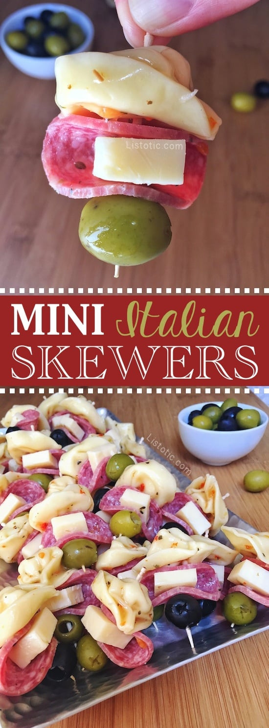 Italian Appetizers Easy  Easy Appetizer Idea For A Party the perfect finger food