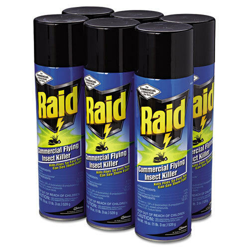 Johnson'S Backyard Garden  31 x Raid MERCIAL Flying Insect Killer 19 oz Spray Cans
