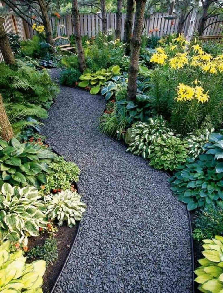 Johnson'S Backyard Garden  35 Beauty Front Yard Pathways Landscaping Ideas on A Bud