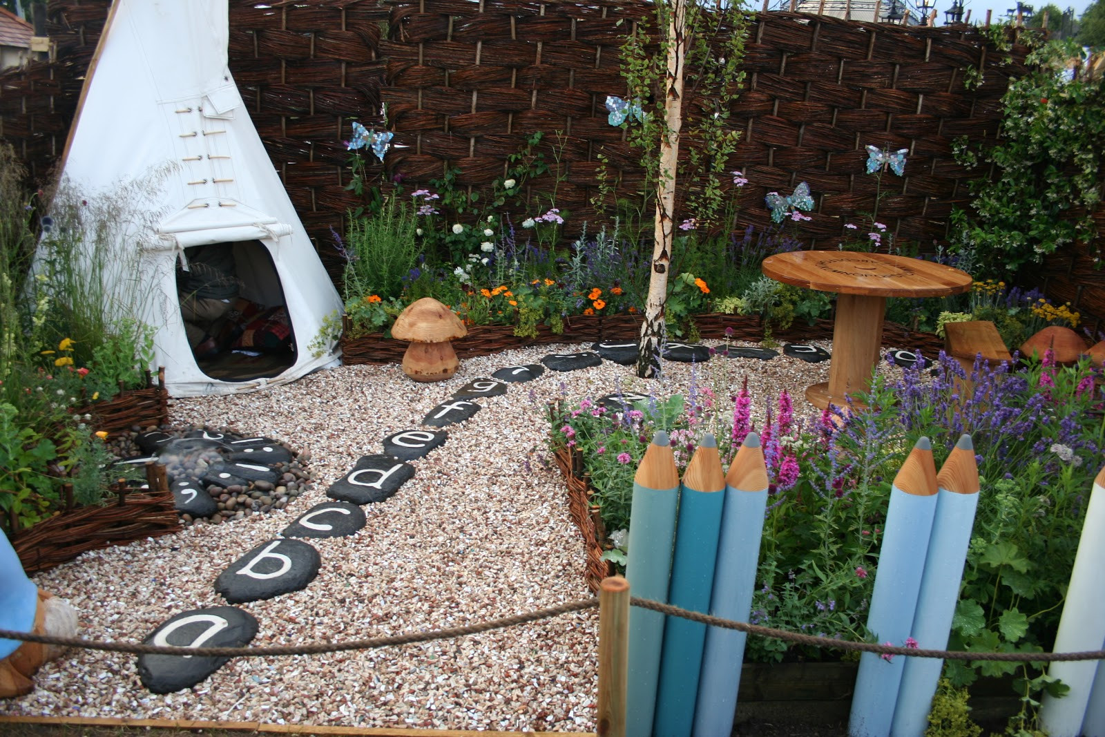 Kid Friendly Backyard Ideas  Out2play in the garden Opportunity to Design a Garden for