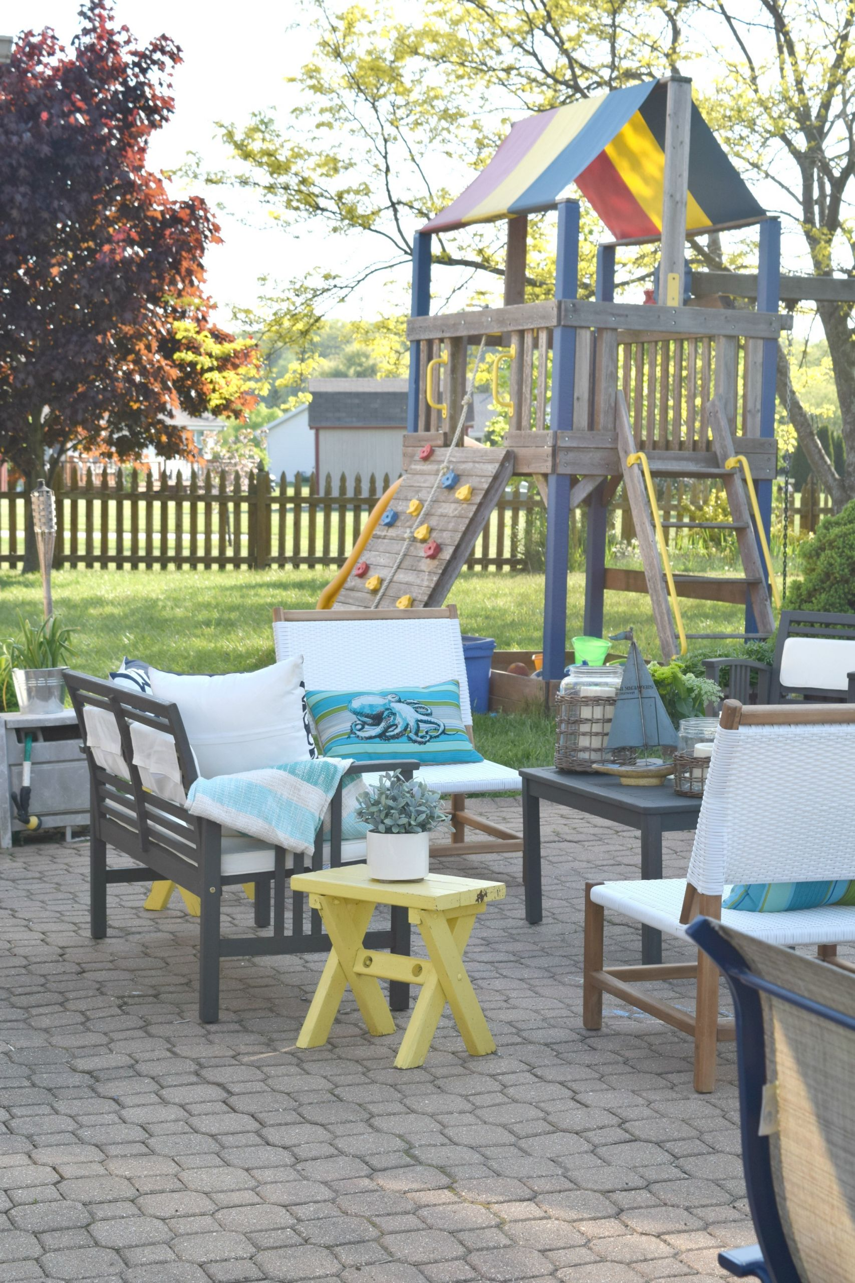 Kid Friendly Backyard Ideas  Summer outdoor home tour • Our House Now a Home