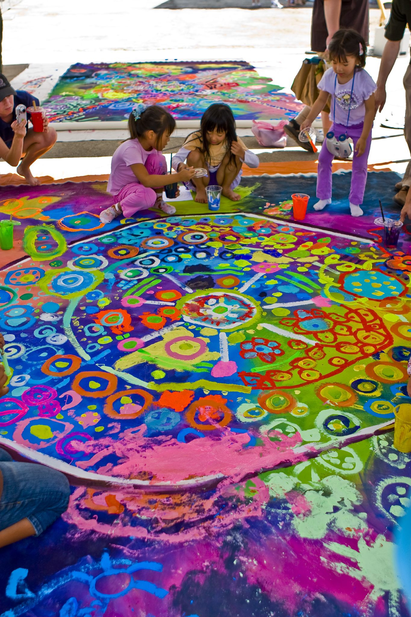 Kids Art Projects  Art and Yoga Summer Camp