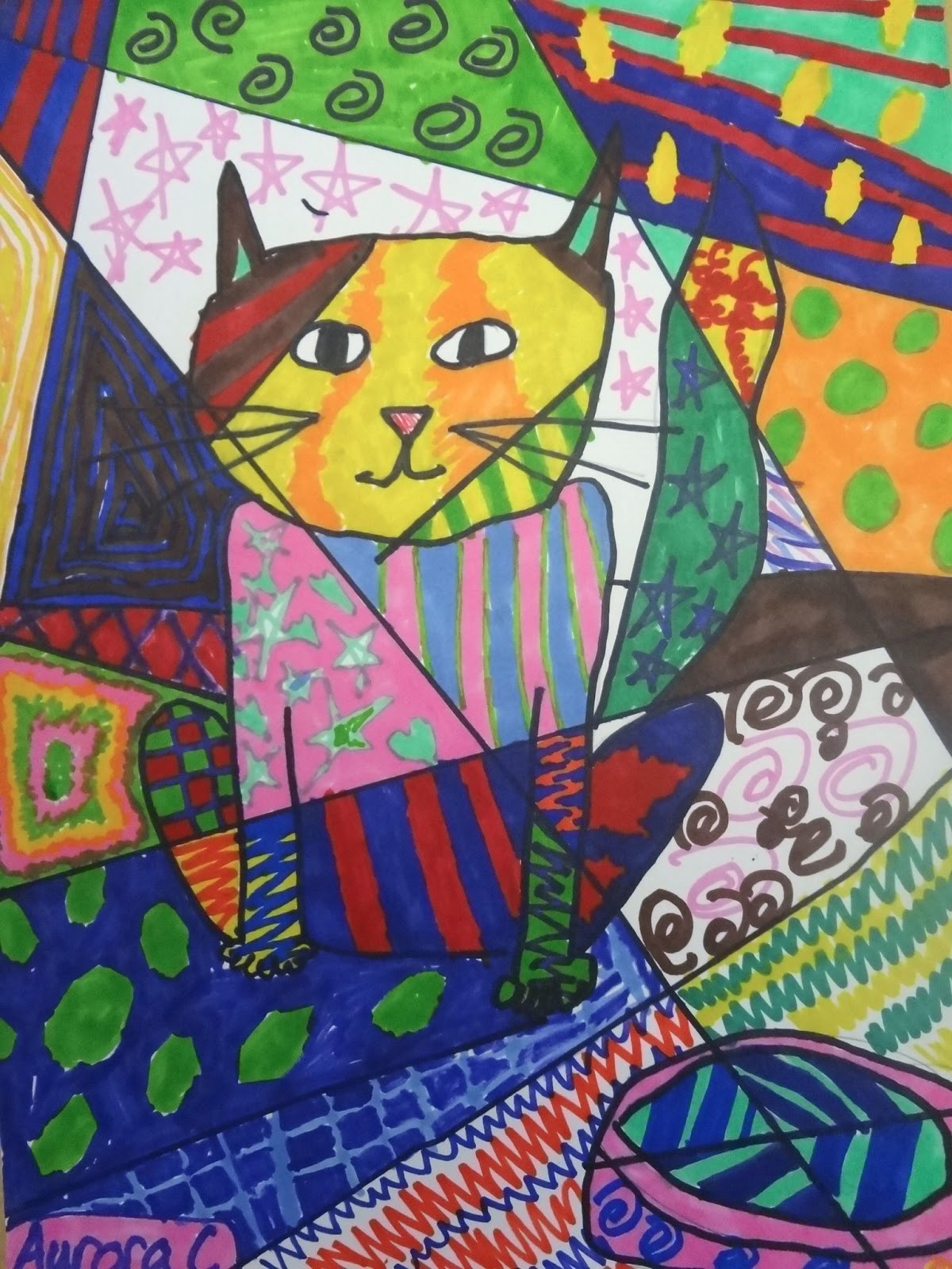 Kids Art Projects  The Talking Walls Romero Britto Art Lesson for Kids