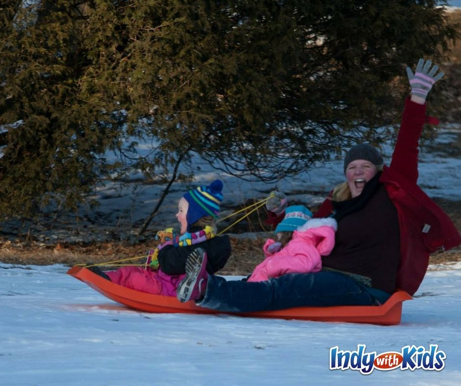 Kids Birthday Party Places In Northwest Indiana  Best Snow Sledding Hills in Indianapolis