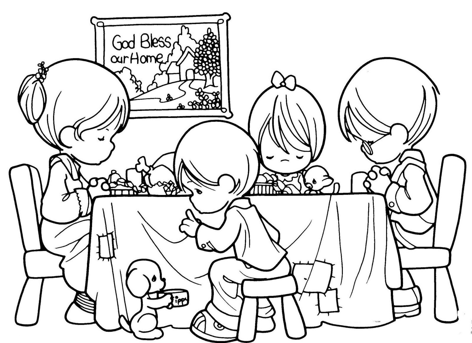 Kids Coloring Picture  Free Printable Christian Coloring Pages for Kids Best