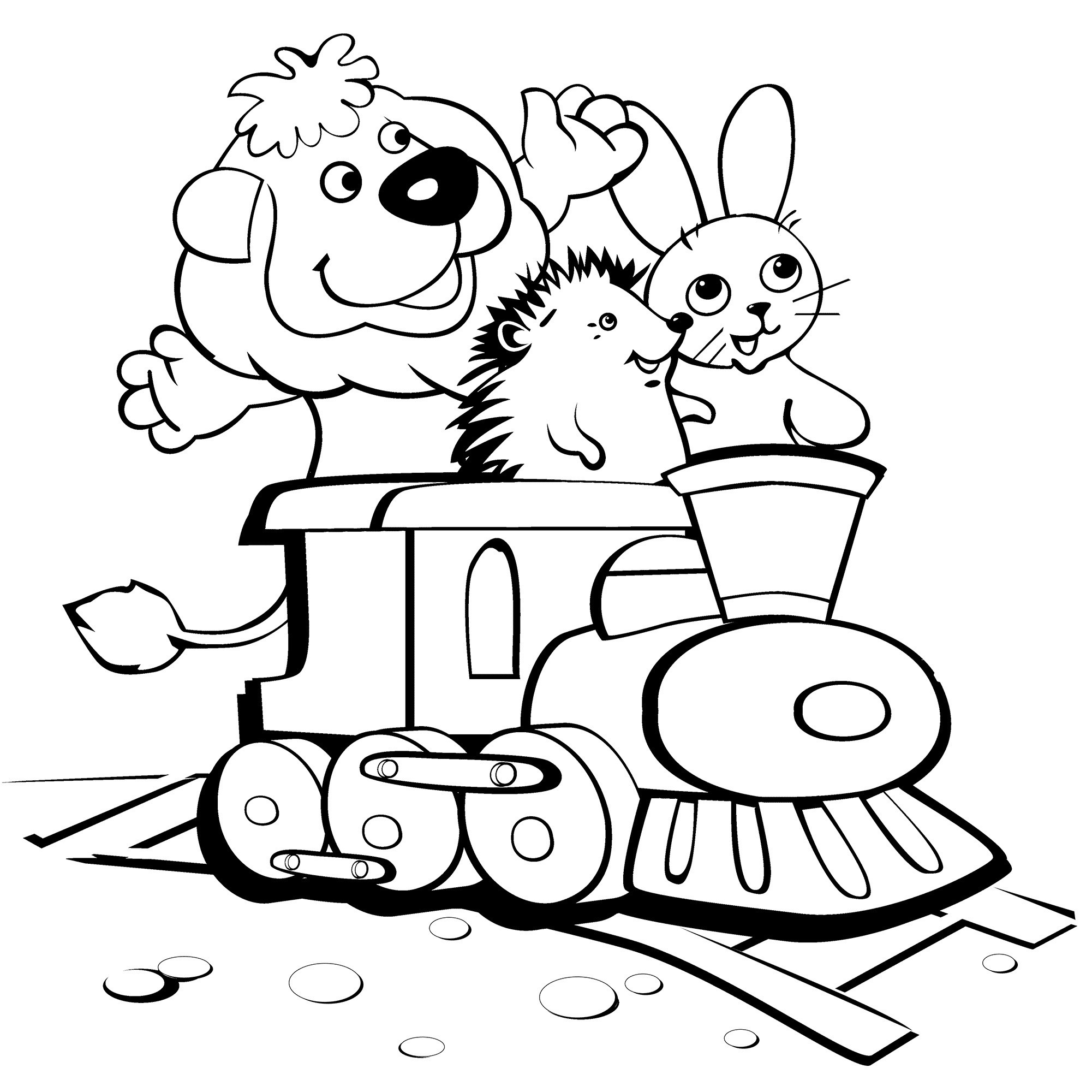 Kids Free Coloring Pages  Free Printable Funny Coloring Pages For Kids
