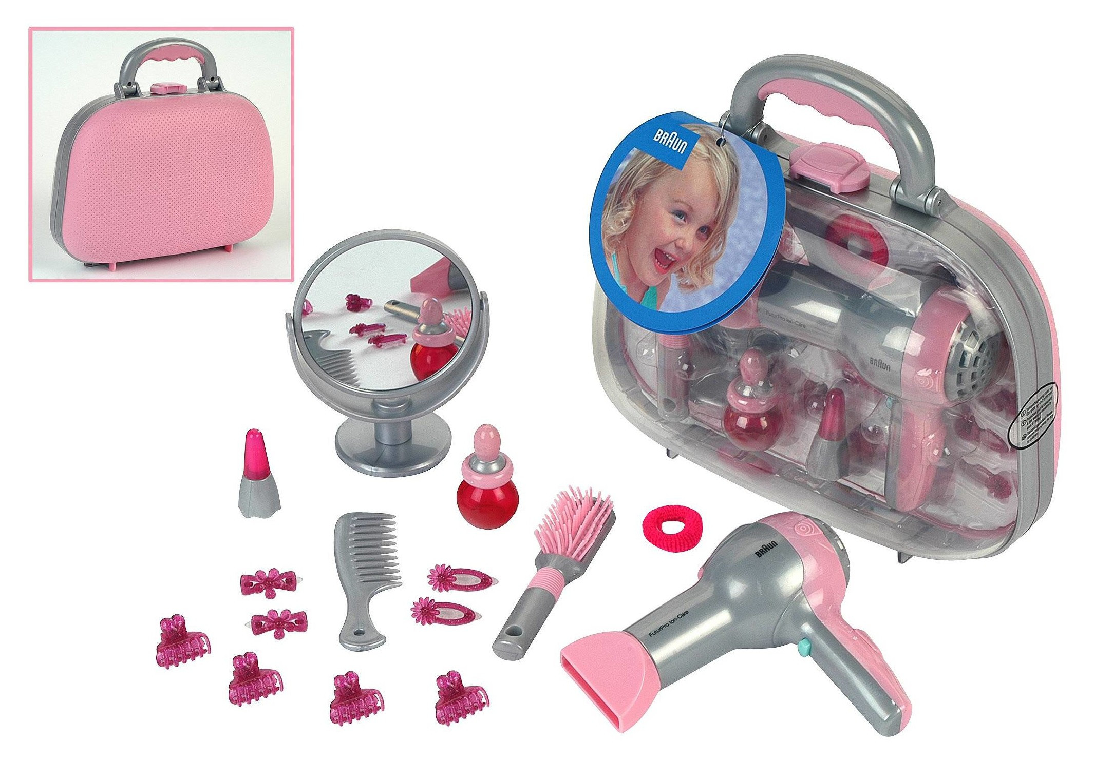 Kids Hair Dryers  Toy Hair Dryer That Blows Air Battery Operated With Sounds