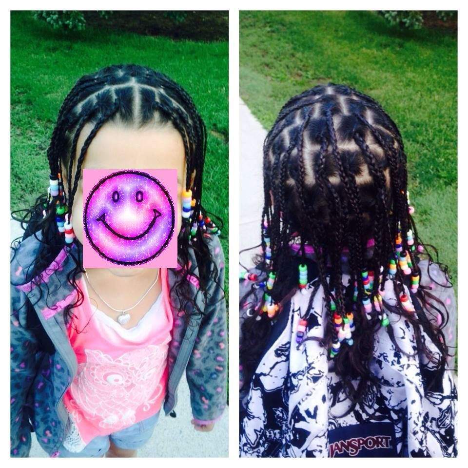 Kids Hair Hours  My little girls hair took 5 hours to braid & add beads I