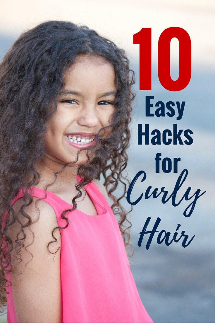 Kids Hair Hours  Best Hair Products and 10 Easy Hacks for Curly Hair